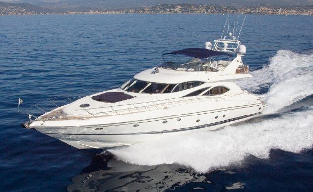 Lady Esther yacht charter Sunseeker Motor Yacht