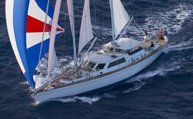 Elysian yacht charter Bowman Sail Yacht