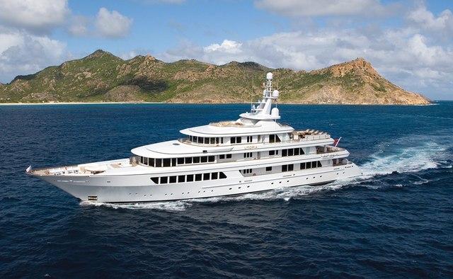 Utopia yacht charter Feadship Motor Yacht