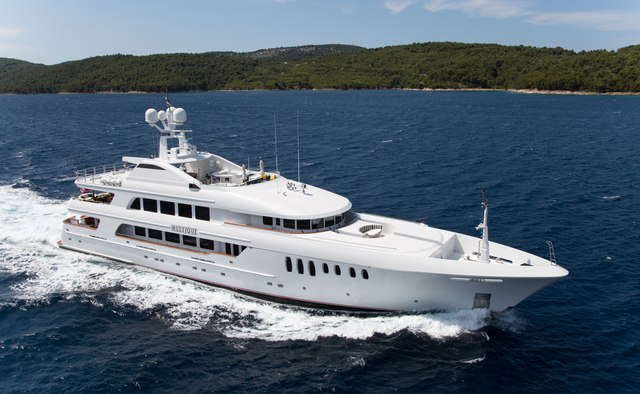 Mustique yacht charter Trinity Yachts Motor Yacht