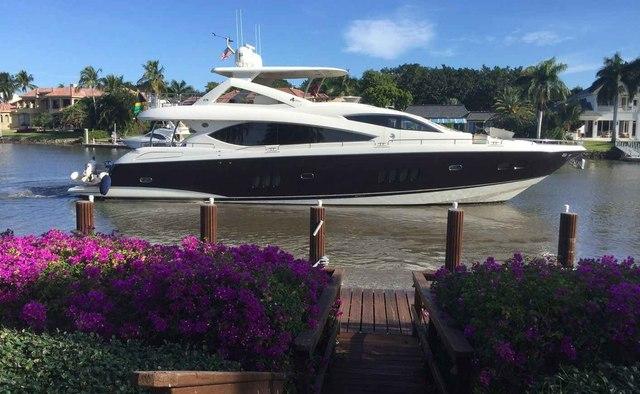 Perseverance II yacht charter Sunseeker Motor Yacht
