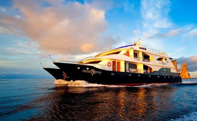 Ocean Spray Yacht Charter in Galapagos Islands
