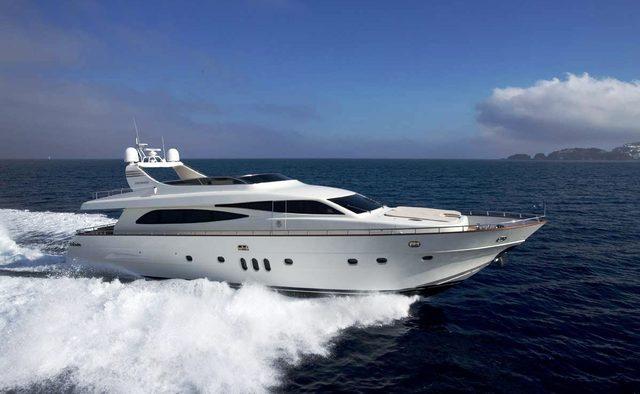 Anassa A yacht charter Canados Motor Yacht