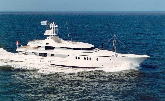 Jaz yacht charter Amels Motor Yacht