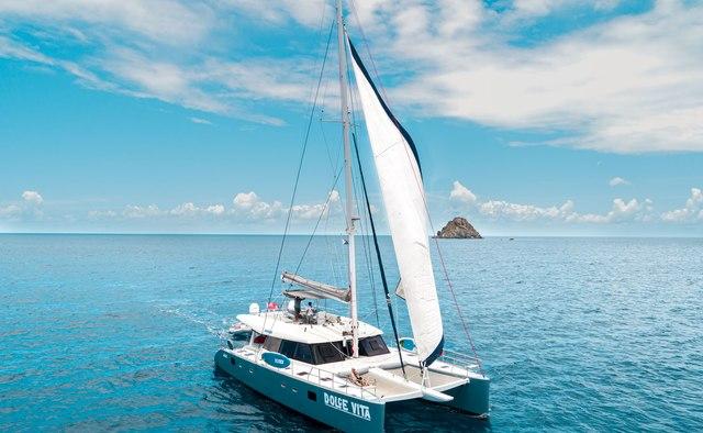 Dolcevitacat Yacht Charter in Trellis Bay