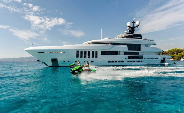 Ouranos yacht charter Admiral Yachts Motor Yacht