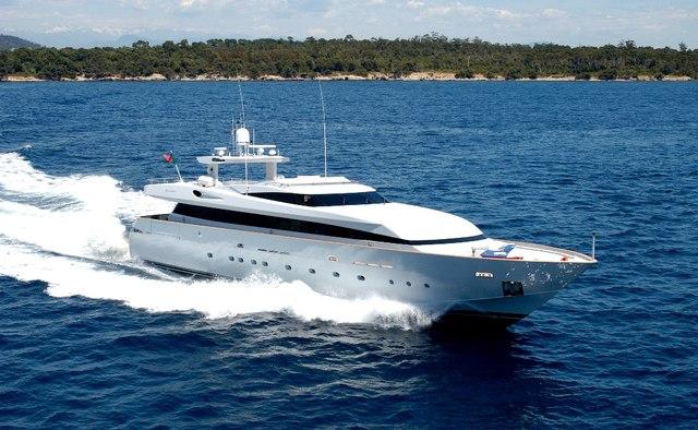 A6M Zero yacht charter Baglietto Motor Yacht