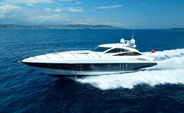 Rehab yacht charter Sunseeker Motor Yacht