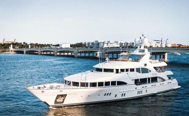 Alegria yacht charter Benetti Motor Yacht