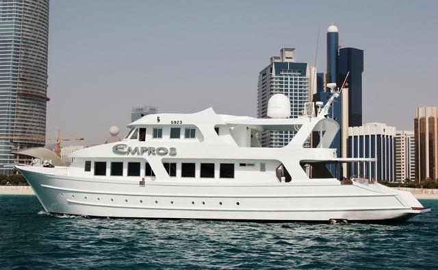 Empros 100 Yacht Charter in Dubai