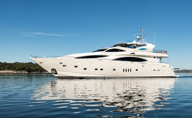 Baby I charter yacht exterior designed by Don Shead Yacht Design
