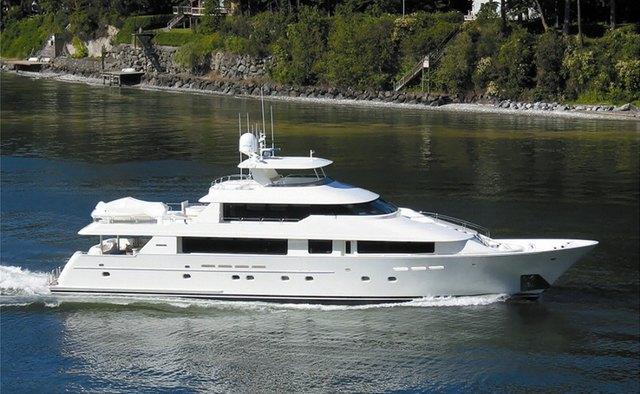 Antares yacht charter Westport Yachts Motor Yacht