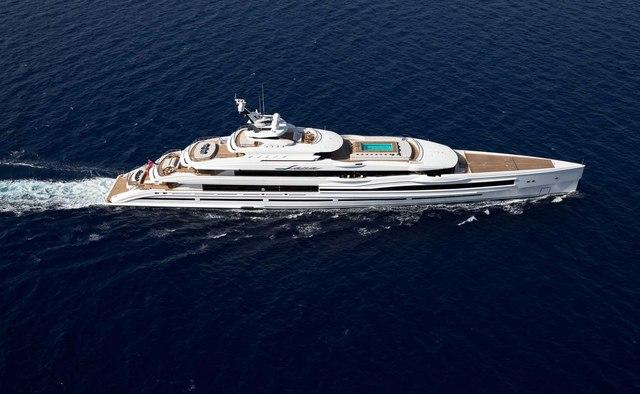 Lana yacht charter Benetti Motor Yacht