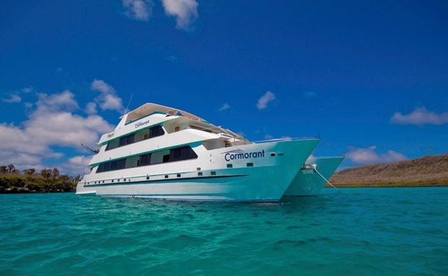 Cormorant Yacht Charter in Galapagos Islands
