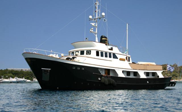 Dauntless yacht charter Kristiansands Mekverksted Motor Yacht