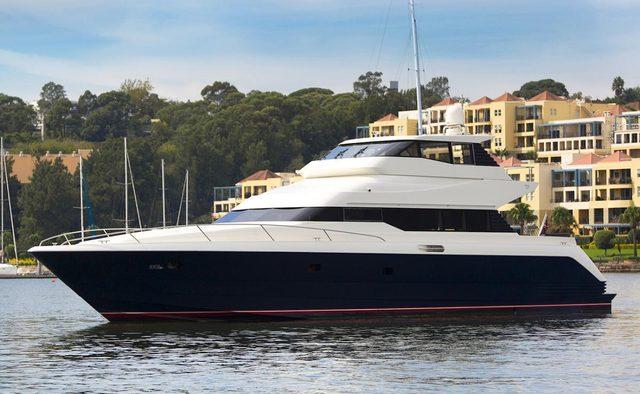 Element yacht charter Warren Yachts Motor Yacht