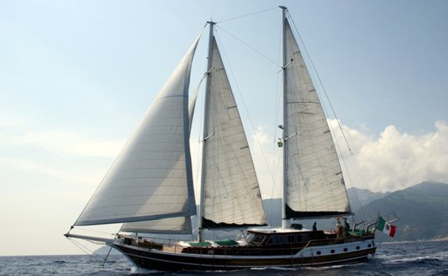 Lady Christa yacht charter Bodrum Shipyard Sail Yacht