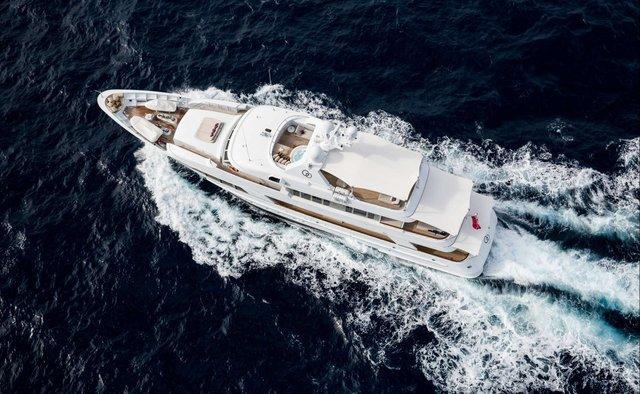 GO yacht charter Feadship Motor Yacht
