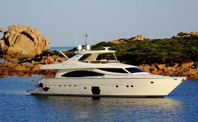 Felina yacht charter Ferretti Yachts Motor Yacht