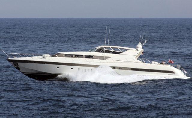 Mina II yacht charter Overmarine Motor Yacht