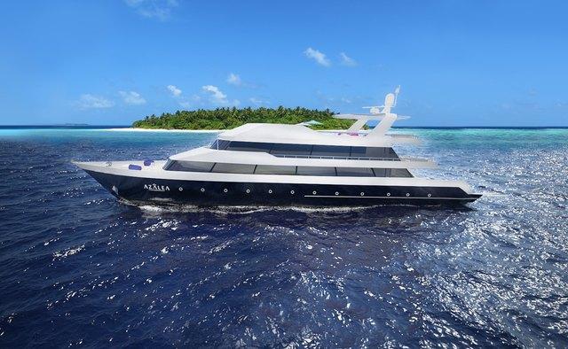 Azalea yacht charter Custom Motor Yacht