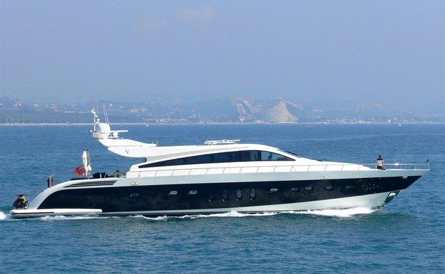 Cassinella yacht charter Leopard Motor Yacht