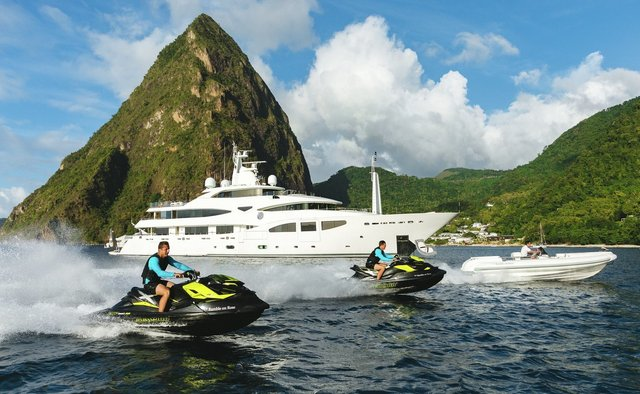 Ramble On Rose Yacht Charter in St Barts