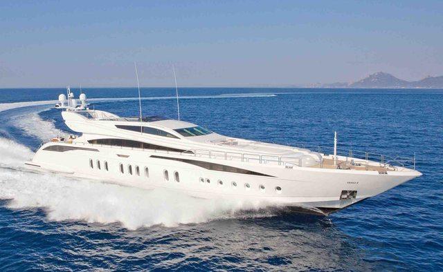 Lisa IV charter yacht interior designed by Cristiano Gatto Design