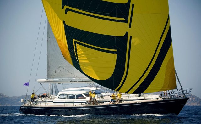 Vivid yacht charter Jongert Sail Yacht