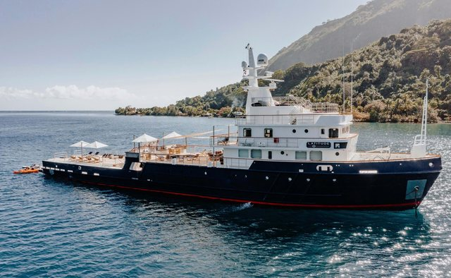 Latitude Yacht Charter in South Pacific