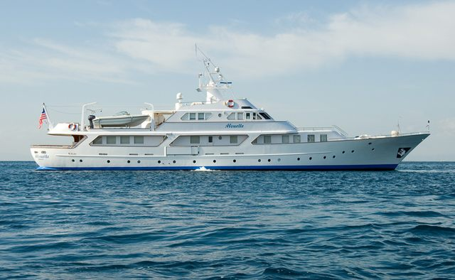 Lalibela charter yacht exterior designed by Benetti