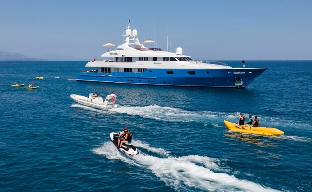 Mosaique yacht charter Turquoise Motor Yacht