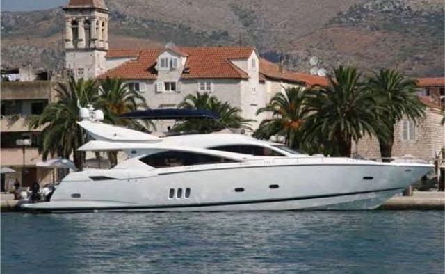 Lucky Bear yacht charter Sunseeker Motor Yacht