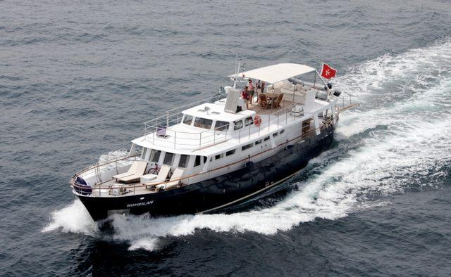 Black Pepper yacht charter Benetti Motor Yacht