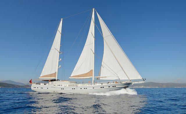 Queen of Salmakis Yacht Charter in Greece