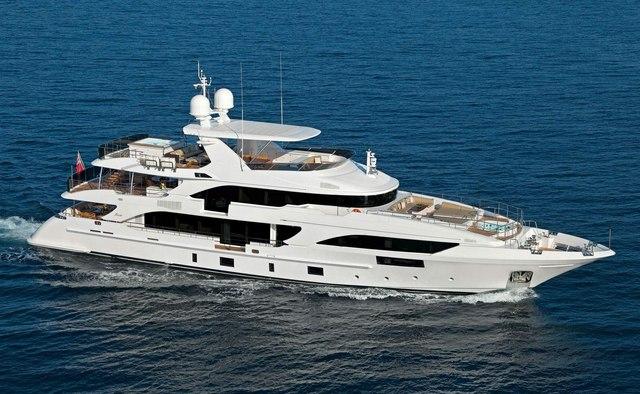 Oryx yacht charter Benetti Motor Yacht