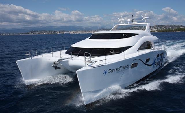 Jambo yacht charter Sunreef Yachts Sail Yacht