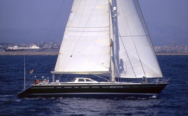 Scarena yacht charter Jongert Sail Yacht