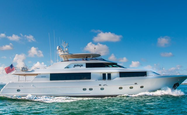 Jopaju yacht charter Westport Yachts Motor Yacht
