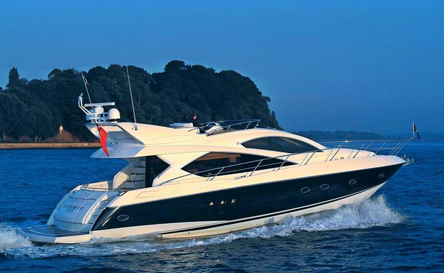 Saint George yacht charter Sunseeker Motor Yacht