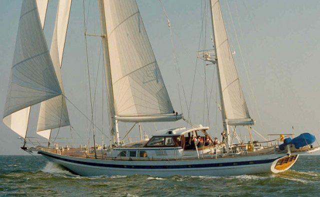 Sailing T yacht charter Jongert Sail Yacht