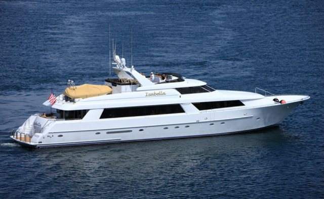 Three Blessings yacht charter Westport Yachts Motor Yacht