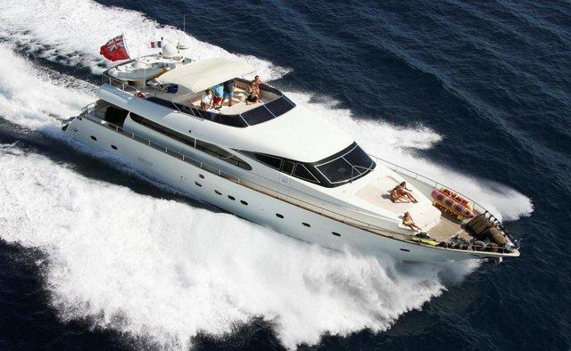Jackie One yacht charter Amer Motor Yacht