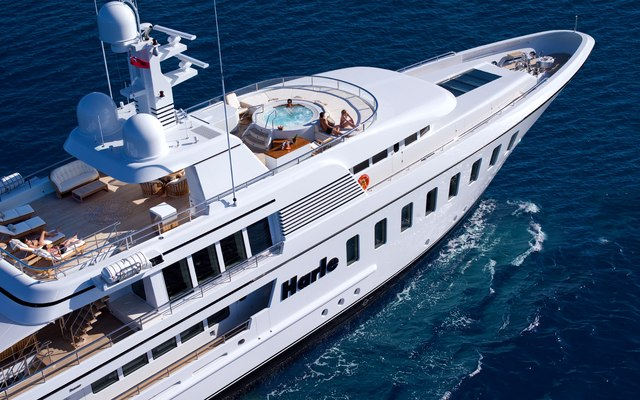 Harle Yacht Aerial View