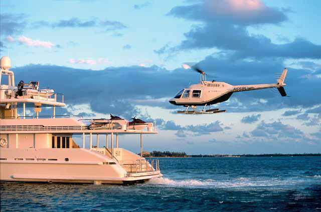 Starship Photos Yacht Helicopter Landing