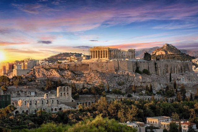 Disembark in Athens