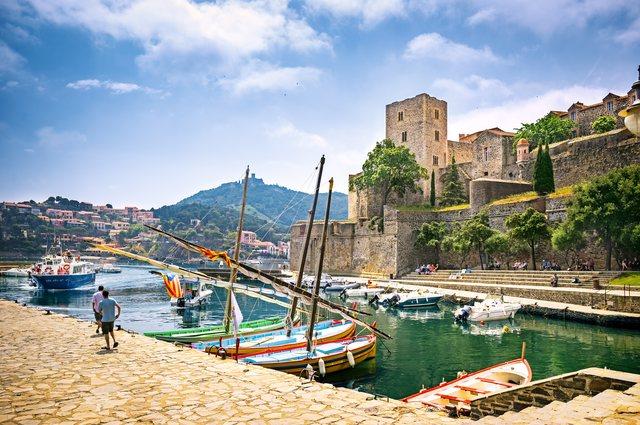 Disembark in Port Vendres