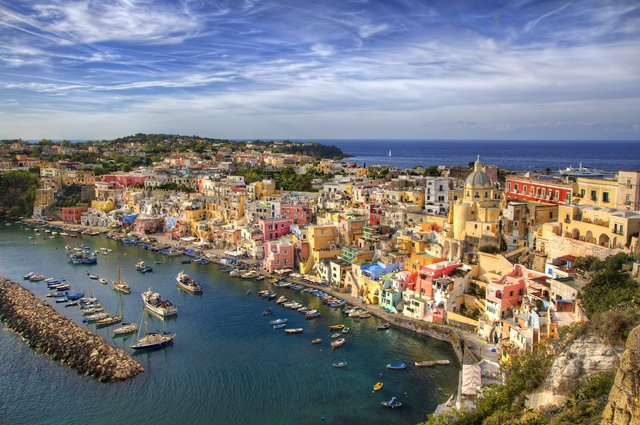 Wrap up in Procida