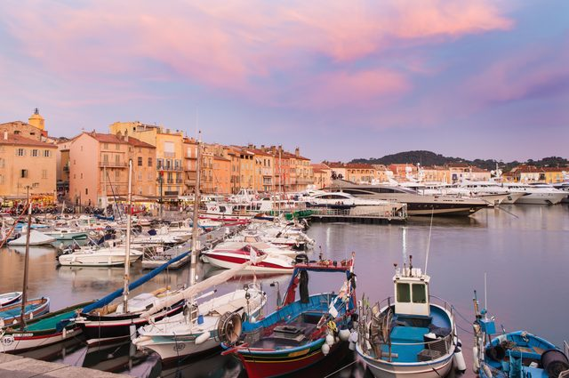 Embark in St Tropez