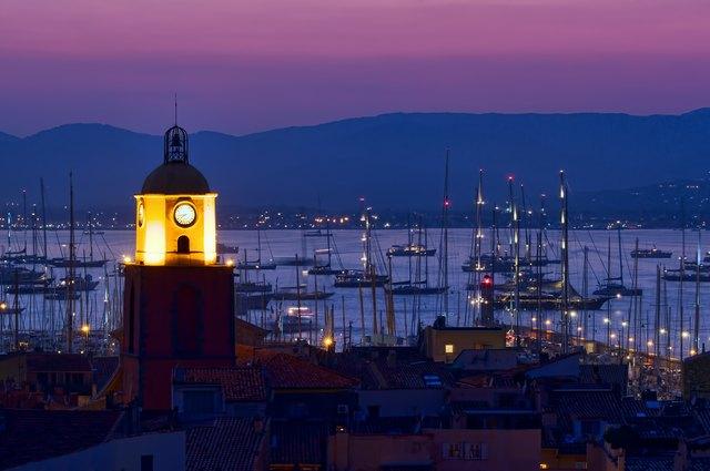 Disembark in St Tropez